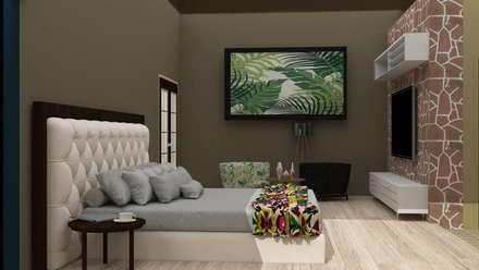colonial Bedroom by CAXÁ studio