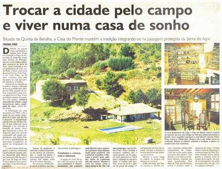 Casa do Monte - Cerdeira - Arganil: Casas de campo  por Pedro de Almeida Carvalho, Arquitecto, Lda