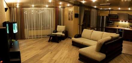 Гостиная: Гостиная в . Автор – Дизайн-студия интерьера и ландшафта 'Деметра'