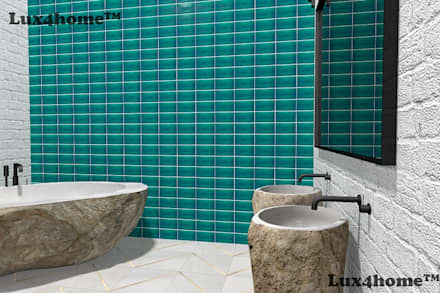 : industrial Bathroom by Lux4home™ Indonesia