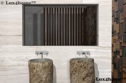 : rustic Bathroom by Lux4home™ Indonesia