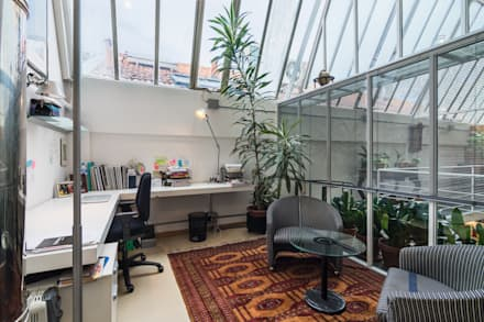 Fotografie Loft industriale || Foto di ZEROPXL: Studio in stile in stile Industriale di ZEROPXL | Fotografia di interni e immobili
