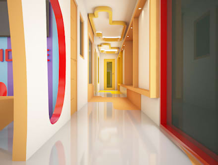 Corridor:  Schools by Rhomboid Designs