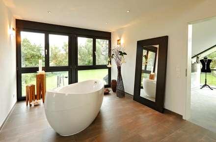 Ästhetik   Traum Aus Glas Und Holz: Ausgefallene Badezimmer Von DOSCH  Bauservice
