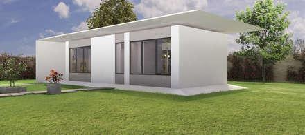 CASA PASSIVA: Casa passiva in stile  di MINIMA Architetti