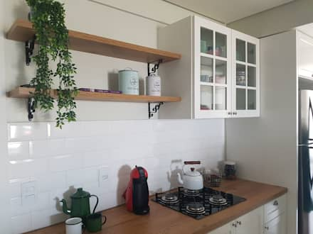 مطبخ تنفيذ Consilium Arquitetura