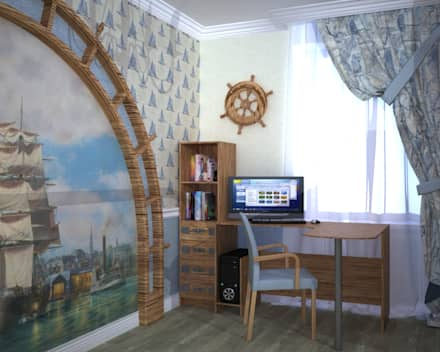 Boys Bedroom by Дизайн-студия интерьера и ландшафта 'Деметра'