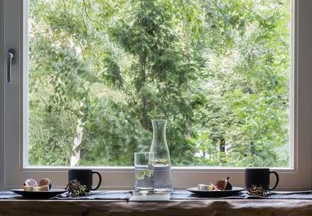 Квартира на Малой Филевской ул: Кухонные блоки в . Автор – Дизайн бюро Татьяны Алениной