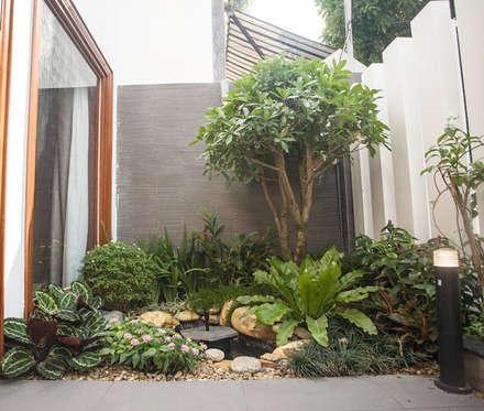Front garden by Công ty TNHH Xây Dựng TM – DV Song Phát
