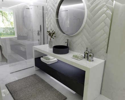 Baños de estilo rústico por Smile Bath S.A.