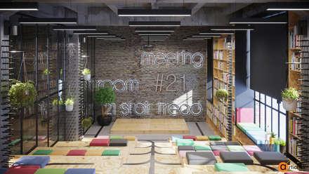 Демонстрационный зал в офисе IT-компании: Офисы и магазины в . Автор – Art-i-Chok