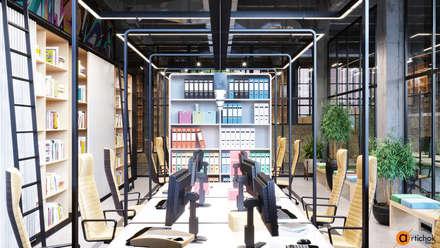 Рабочее место писателей - интерьер офиса IT-компании: Офисные помещения в . Автор – Art-i-Chok