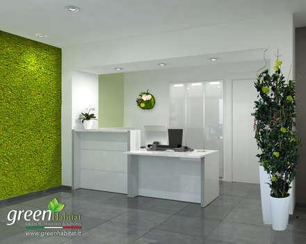 CLINICA PRIVATA VERDE: Cliniche in stile  di Green Habitat s.r.l.