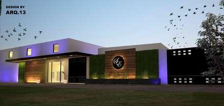 Locaciones para eventos de estilo moderno arquitectura y - Salones estilo colonial moderno ...