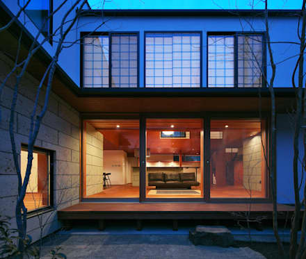 CASA Mi家: かんばら設計室が手掛けた庭です。
