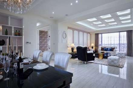 讓整體空間視覺更顯寬敞:  飯店 by 雅和室內設計