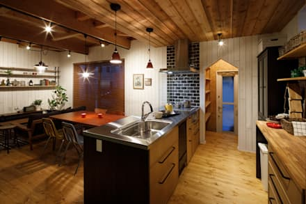 house-11: dwarfが手掛けたキッチンです。