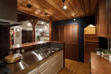 house-12: dwarfが手掛けたキッチンです。