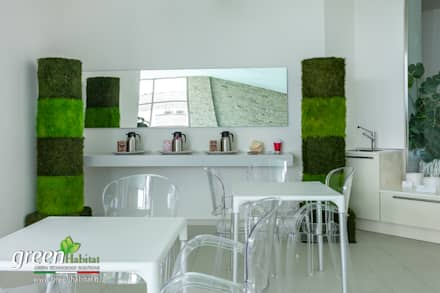 Arredamento spa: Bar & Club in stile  di Green Habitat s.r.l.