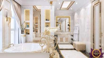 The philosophy of exclusive luxury from Katrina Antonovich: classic Bathroom by Luxury Antonovich Design