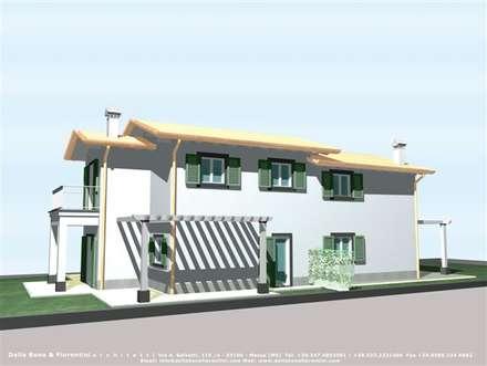 Terrace house by Della Bona & Fiorentini Studio di Architettura