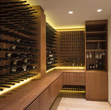 modern Wine cellar by Concepto Taller de Arquitectura