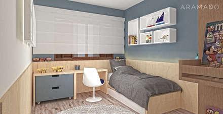 Спальни для мальчиков в . Автор – ARAMADO arquitetura+interiores