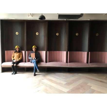 Speciallity banquete: Salas de estilo ecléctico por D Interior