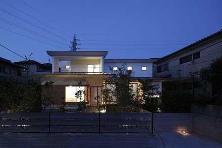 外観: 前田工務店が手掛けた壁です。