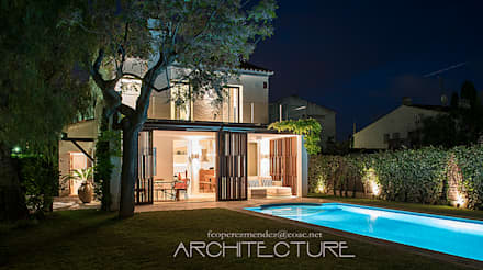 H House: Casas unifamilares de estilo  de FPM Arquitectura