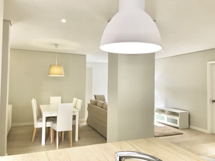 Remodelação Total de Apartamento -Funchal: Salas de jantar clássicas por Ricardo Paulo Henriques Unip Lda