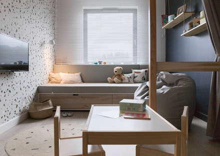 Habitaciones de bebé de estilo  de formativ. indywidualne projekty wnętrz