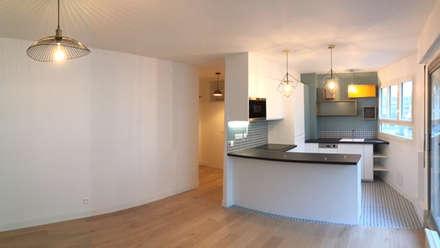 Appartement 75116 Paris: Cuisine de style de style Scandinave par 2002