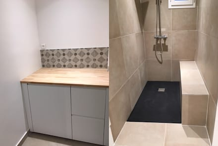 Appartement 75116 Paris: Salle de bains de style  par 2002