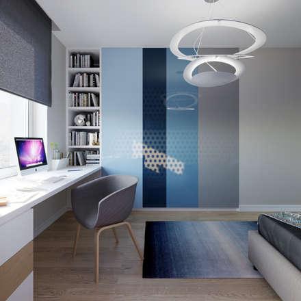 Спальня для мальчика.: Детские спальни в . Автор – Clarte Design
