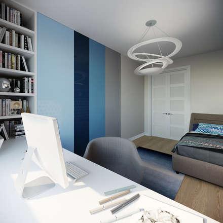 Boys Bedroom by Clarte Design