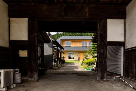 منازل التراس تنفيذ 中山大輔建築設計事務所/Nakayama Architects
