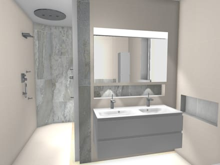 Case study richmond ensuite tw9 modern bathroom by bathroomsbydesign retail ltd