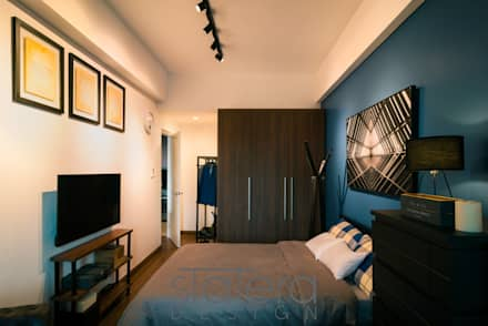 Beedroom - 2: rustic Bedroom by Statera Design