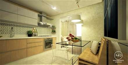 Kitchen units by Maicon Ramos arquitetura
