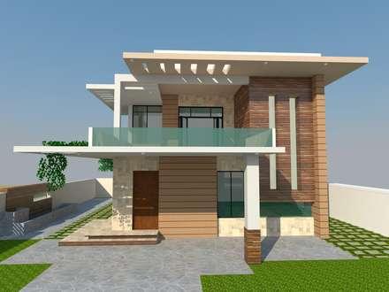 Residence - Mr. S. Narayan:  Villas by S. KALA ARCHITECTS