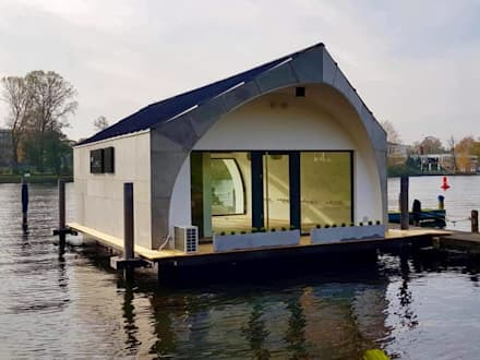 Casa na água: Casas passivas  por Isothermix Lda