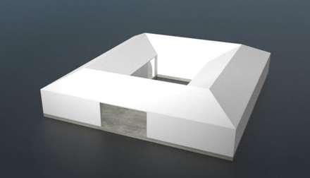 Modelo Quadrado: Casas passivas  por Isothermix Lda