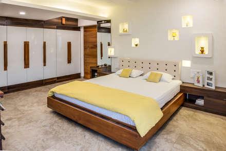 mediterranean Bedroom by Creative Geometry