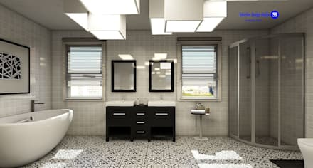 Bathroom: minimalistic Bathroom by 'Design studio S-8'