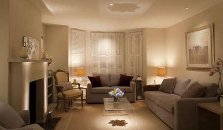 Interiors: Modern Living Room By Svarochi Lighting