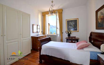 historische stadtvilla direkt am gardasee mediterrane schlafzimmer von lago di garda immobilien - Schlafzimmer Mediterran