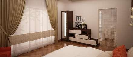 Dresser Unit   Multiple Storage Multiple Mirror : Modern Dressing Room By  NVT Quality Build Solution
