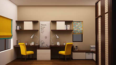 Kids Study Render : modern Nursery/kid's room by NVT Quality Build solution