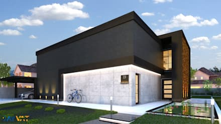 Exterior Designs - Day:  Bungalow by Rayvat Engineering
